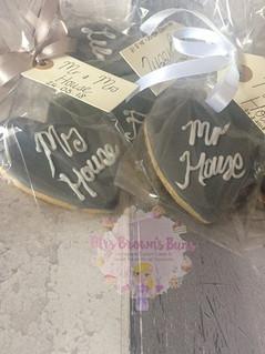 Wedding Favours • Vanilla sugar cookies