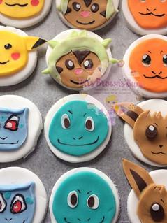 Pokemon Cupcake Toppers