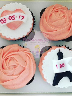 Engagement Cupcakes