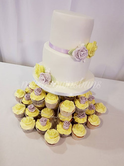 CAKE AND CC WED
