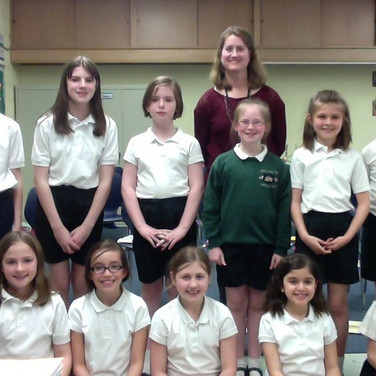 OLPH Elementary Chorus, 2013
