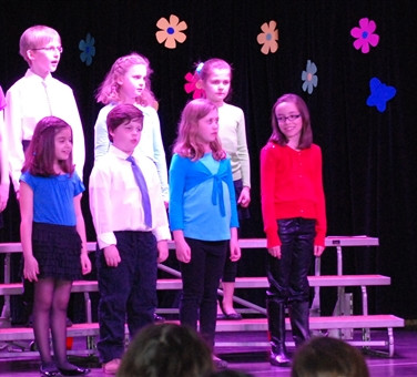 Elementary Chorus Concert, 2013, Lila soloist