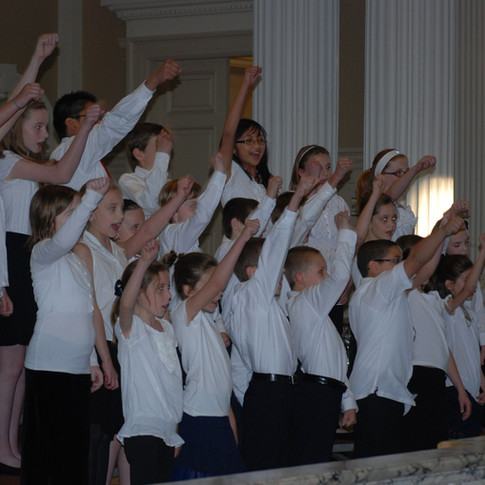 Elementary Chorus Concert, 2012