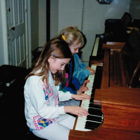 Pre-Piano Class, c. 1995