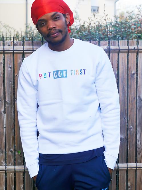 Sweatshirt Put God First