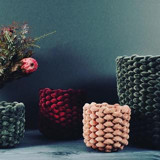 Velvet Pot Covers 💕