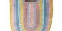 Rainbow Jute Bag