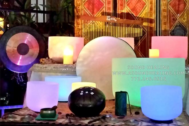 Sound Healing Instruments at Sound Healing