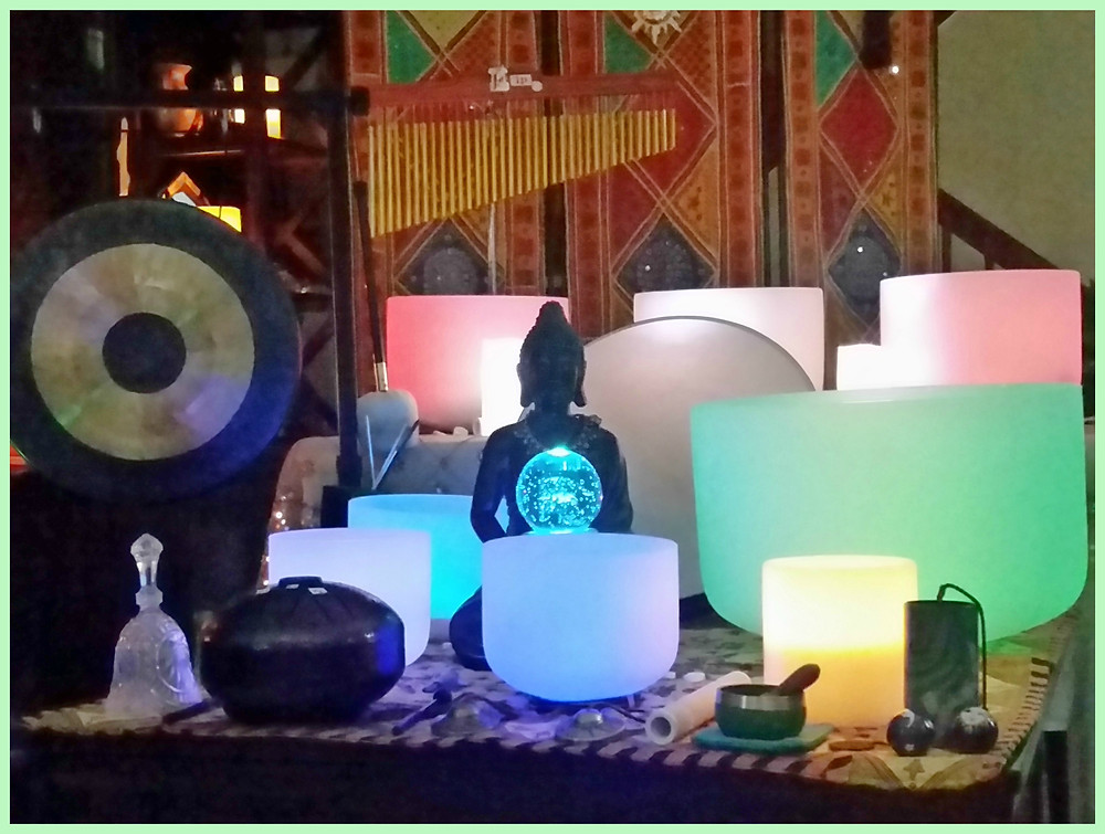 Instruments at Sound Healing