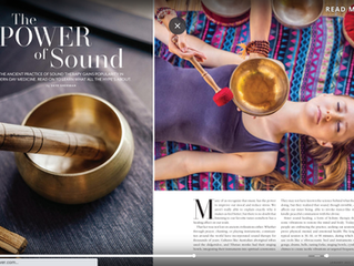 "Sound Healing Therapy ""The Power of Sound"" Featured in Stuart Magazine"