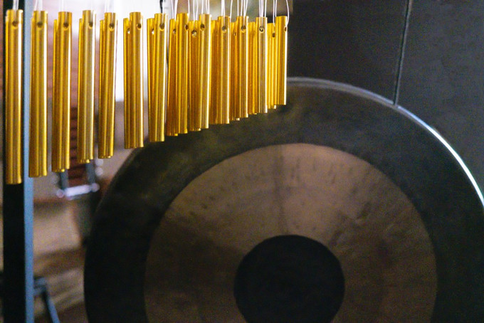 The Healing Vibrations of the Gong and Chimes