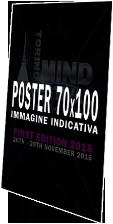 Poster Torino Mind Festival 2015