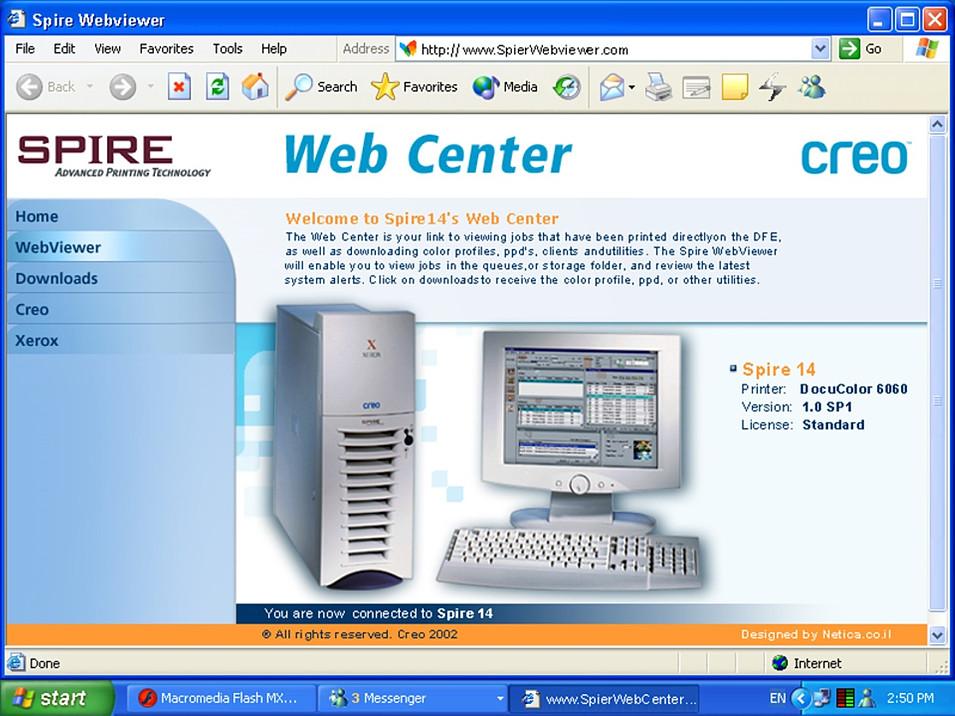 Spire Web App