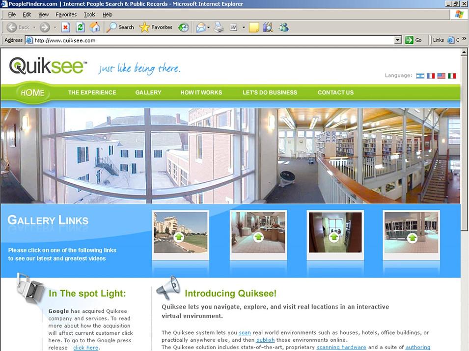 QuikSee Website