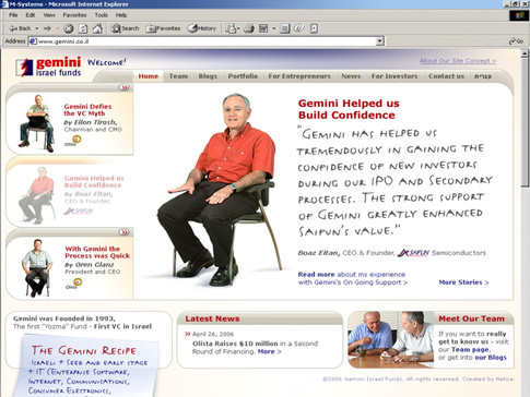 Gemini VC Website