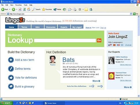 Lingoz Web App