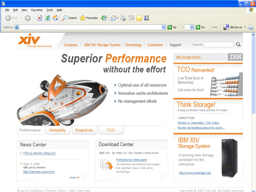 XIV Website