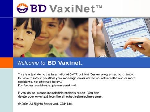 Vaxinet Tablet App