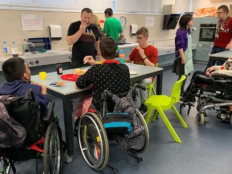 Victoria School Inclusive Kitchen