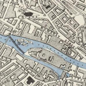 1894 map of Chapel / Chatham Street