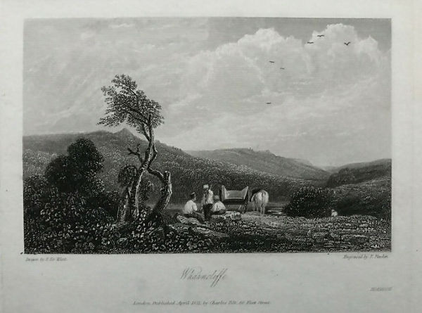 Wharncliffe Chase, an 1831 print from an