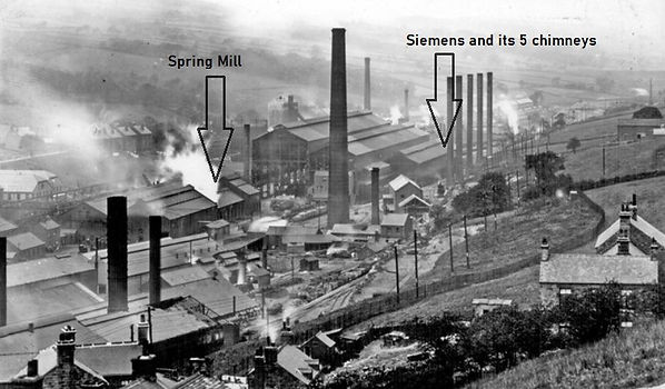 Siemens and Spring Mill.  Each of the 5