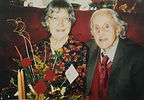 Phyllis and Charles Crossland at Trunce