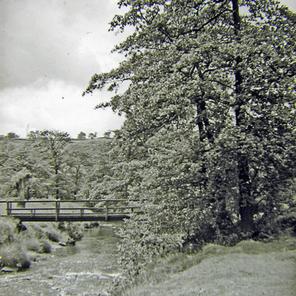 Footbridge, off Old Mill Lane