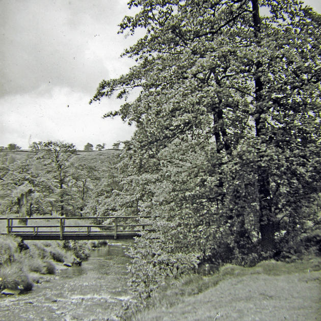 Footbridge, off Old Mill Lane