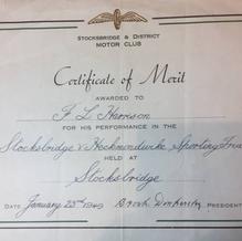 1949 Certificate of Merit