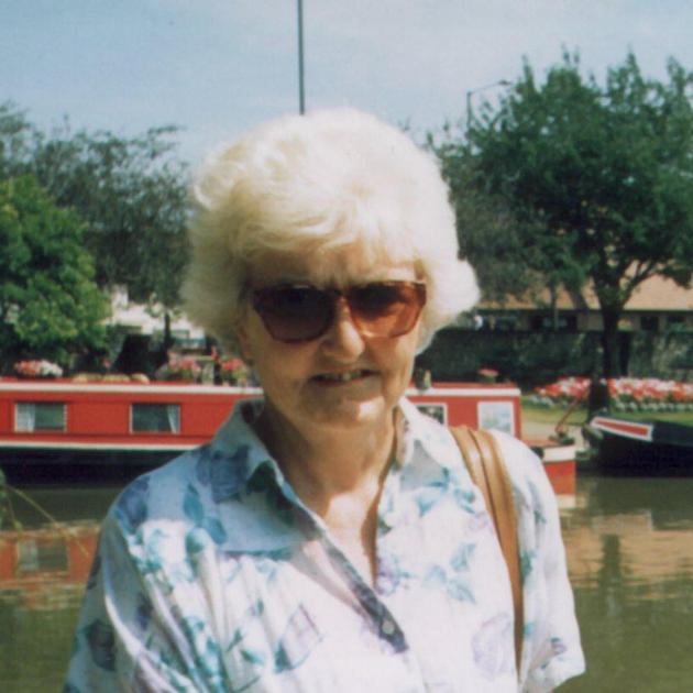 Anne Rigby, daughter of Benjamin and Elsie, taken in 1993