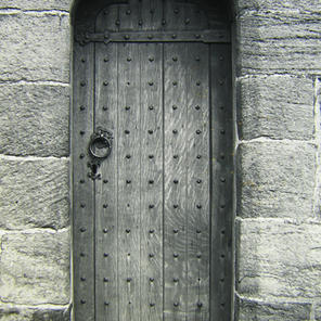 Porter's Lodge doorway, Bolsterstone