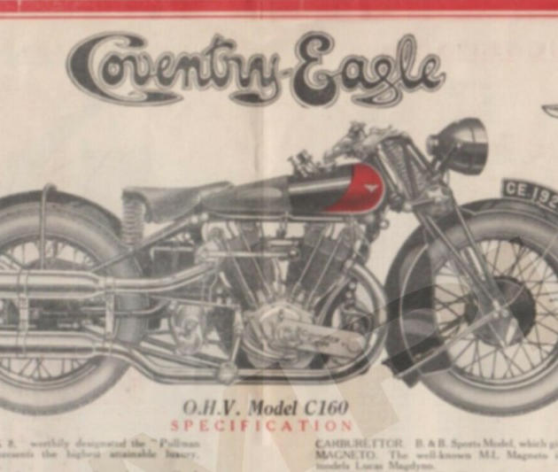 1927 Coventry Eagle advertisement