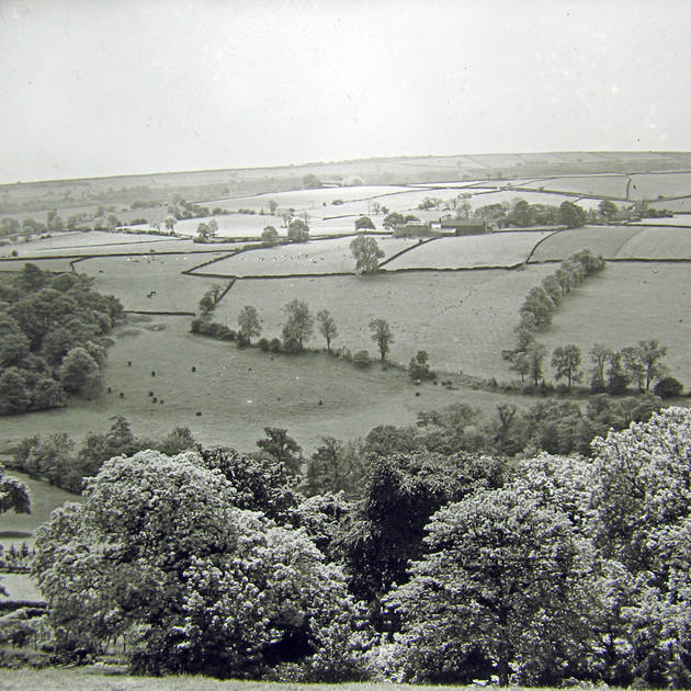 looking south towards Brightholmlee from
