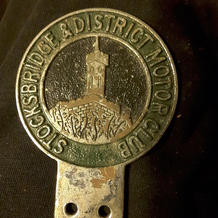 Stocksbridge Motor Club car badge