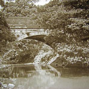 Soughley Bridge over the River Don