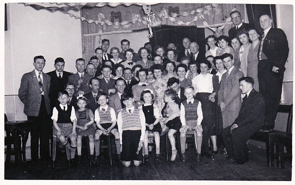Motor Club Christmas party c1952 or 53.j