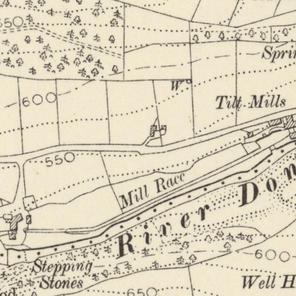 1906 map: bridge nr Ramsden's Row