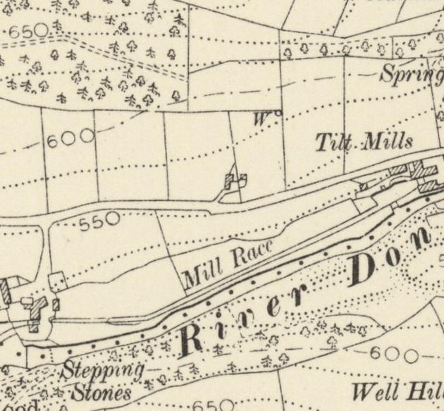 1906 map: bridge nr Ramsden's Row