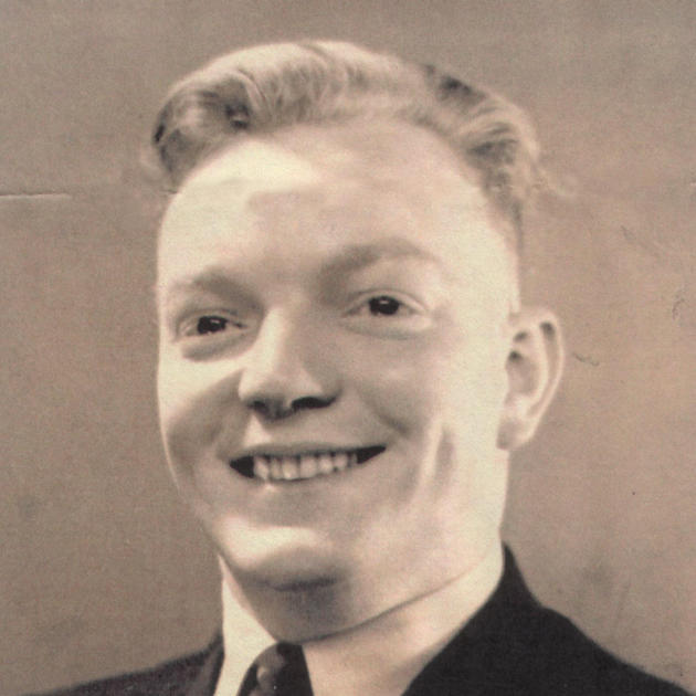 Frank Pearson, son of Frank, taken in about 1940