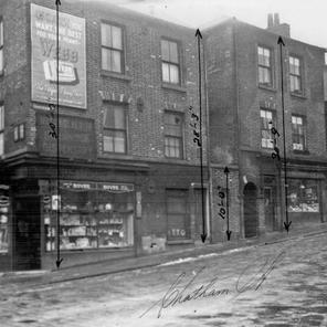 Chatham Street and junction with Bridgehouses.