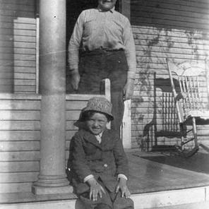 Fred and Harry Camplin, sons of Maria and her husband