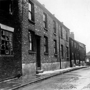 Swinton Street (formerly Cross Chapel Street) looking towards Chatham Street.