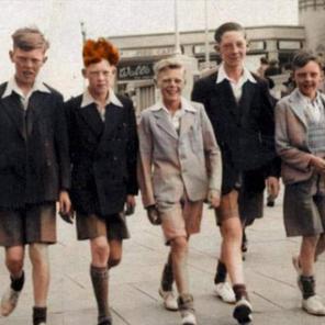 8. Roger, Trevor, Graham, Alec, ? colour applied
