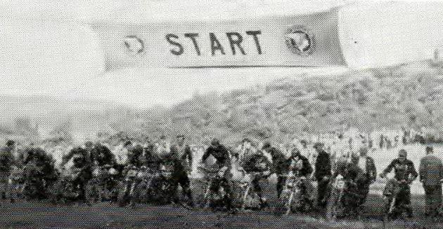 Starting line 1952
