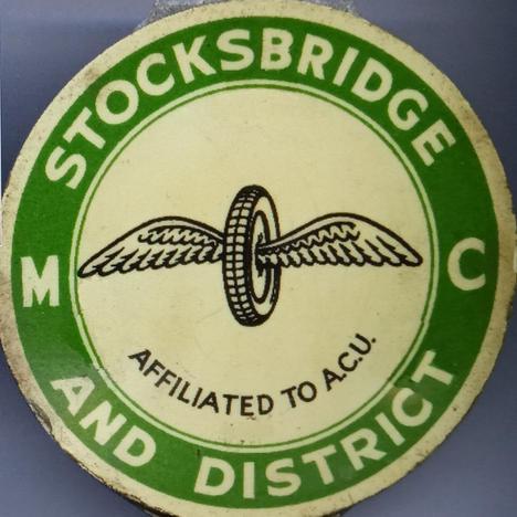 Stocksbridge Motor Club lapel badge