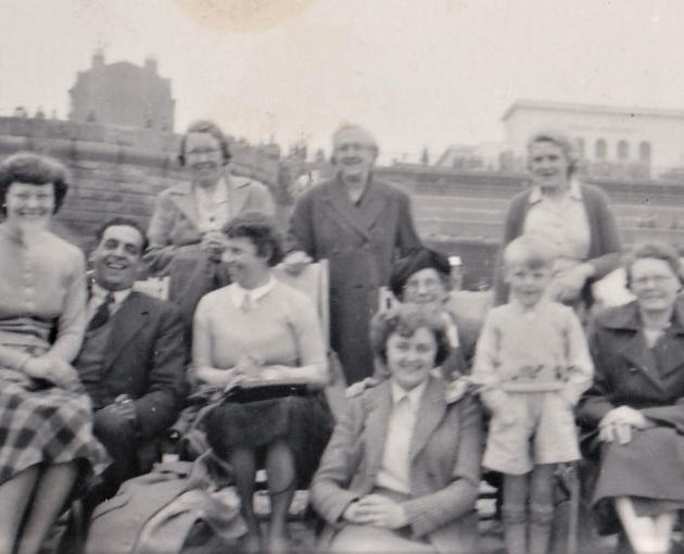 11. Dorothy Pearson, Fred Haigh with Nellie Haigh next to him; Lily Pearson standing far right, Sarah Pearson sitting far right.