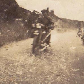 Bike at Bolsterstone