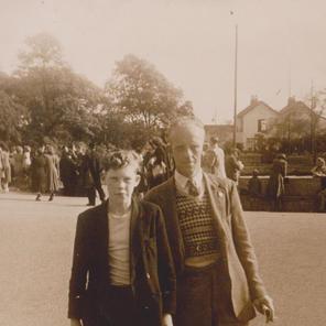 32. My dad Trevor Pearson and my grandad Jack Pearson