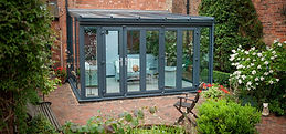 Conservatory Lean to Anthracite Full Hei